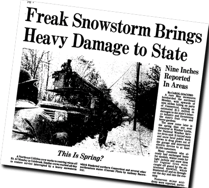 North American blizzard of 1966 - Blizzard of 1977