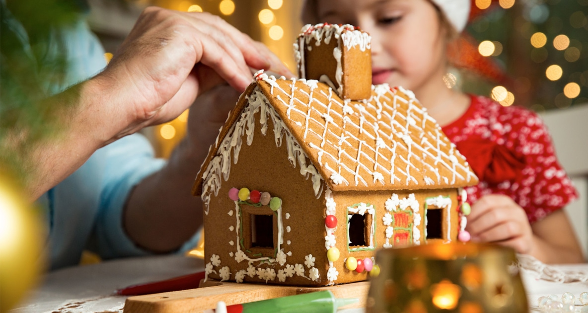 Gingerbread house - Icing