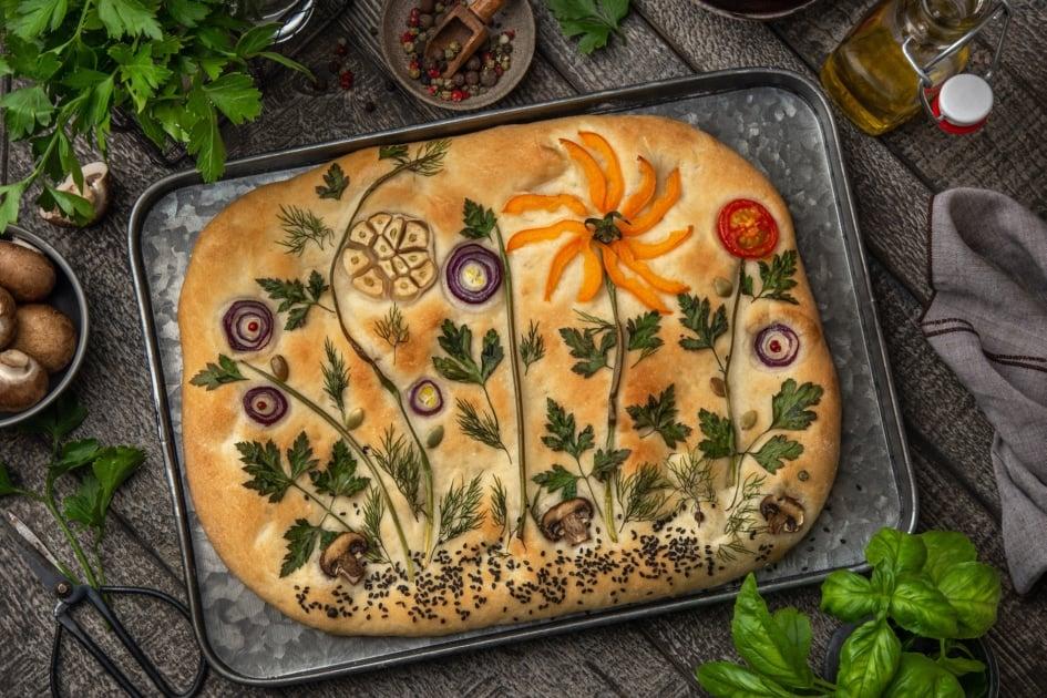 Focaccia - art bread