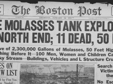 A Strange Disaster: Great Molasses Flood of 1919 featured image