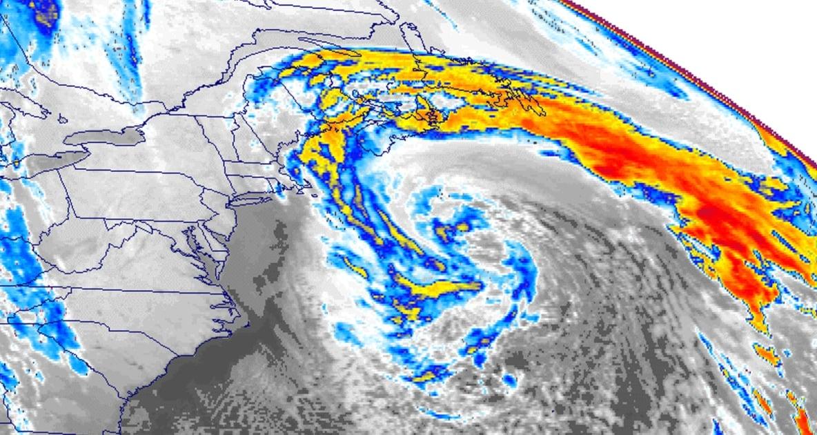 1991 Perfect Storm - 1991 Halloween blizzard