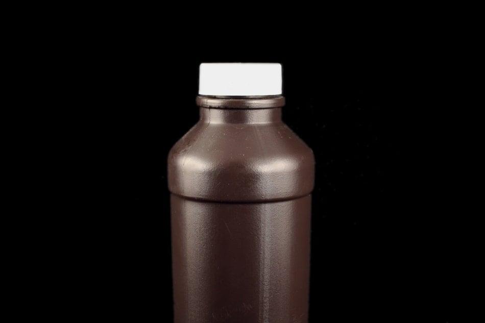 Hydrogen Peroxide in brown bottle