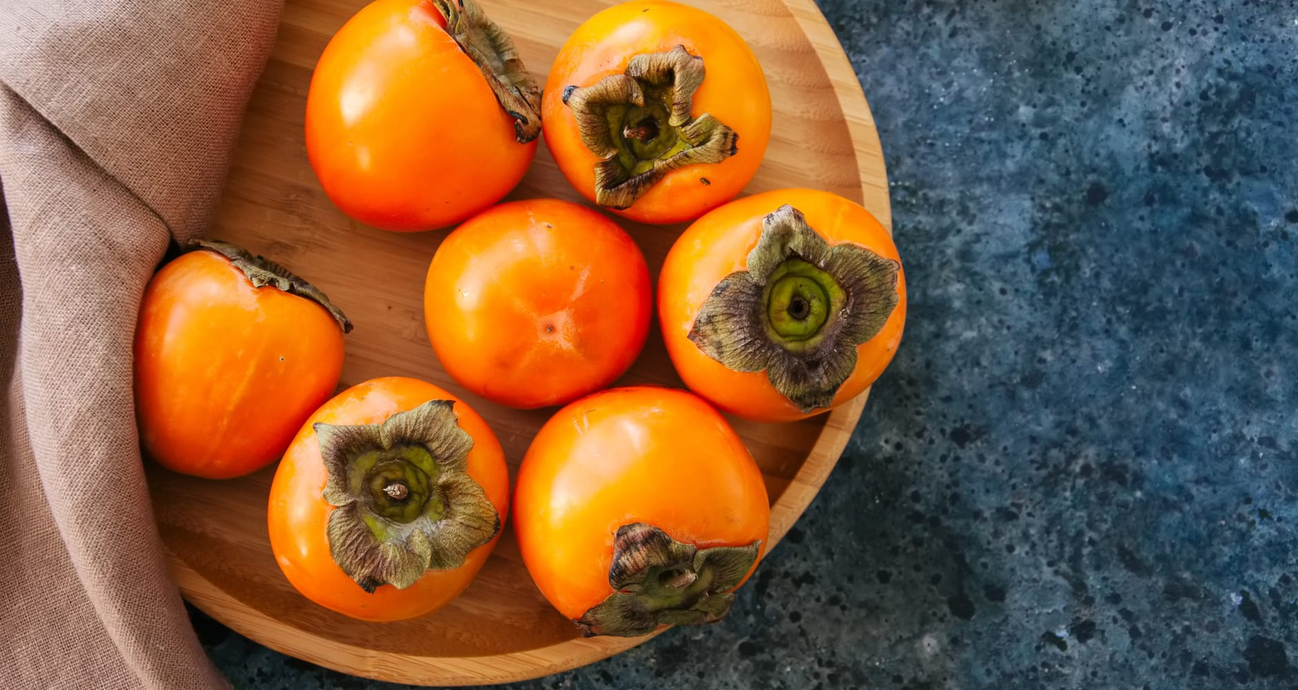 Persimmon seed forecast - a bowl of persimmons
