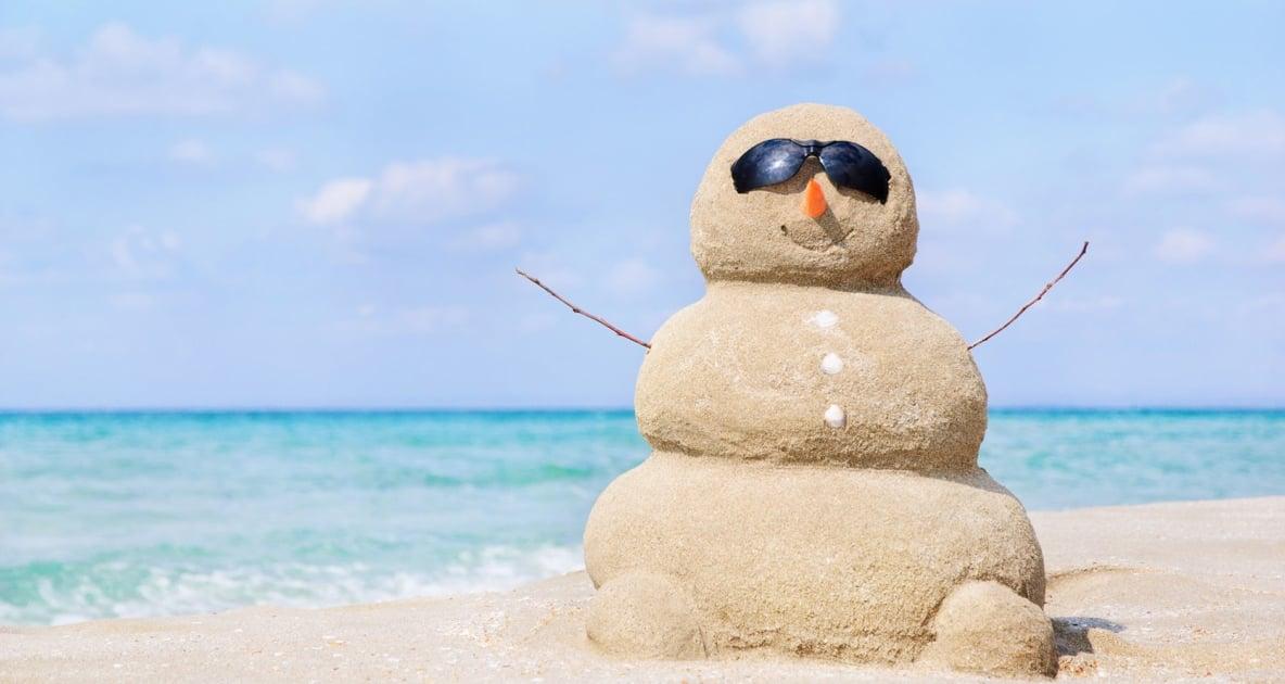 Snowman - Sand