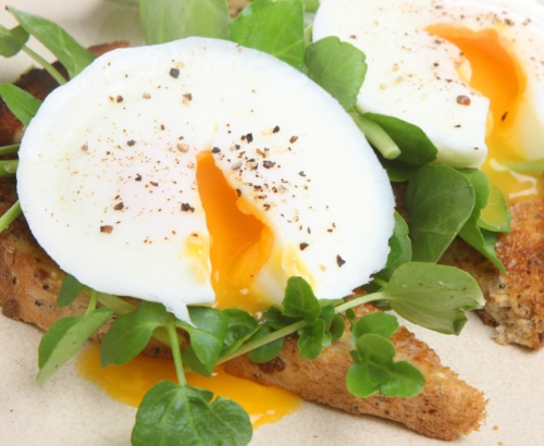 Make Perfect Poached Eggs image