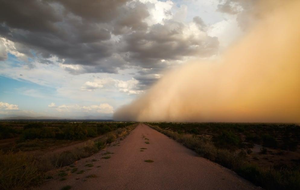 Dust storm - Cloud