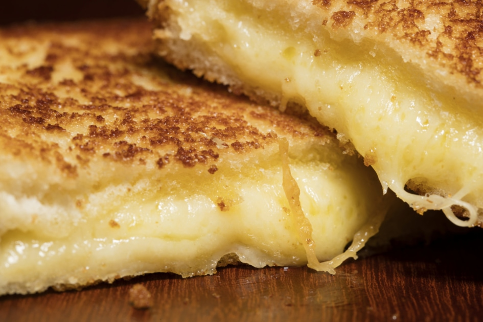 Grilled cheese sandwich - Burger