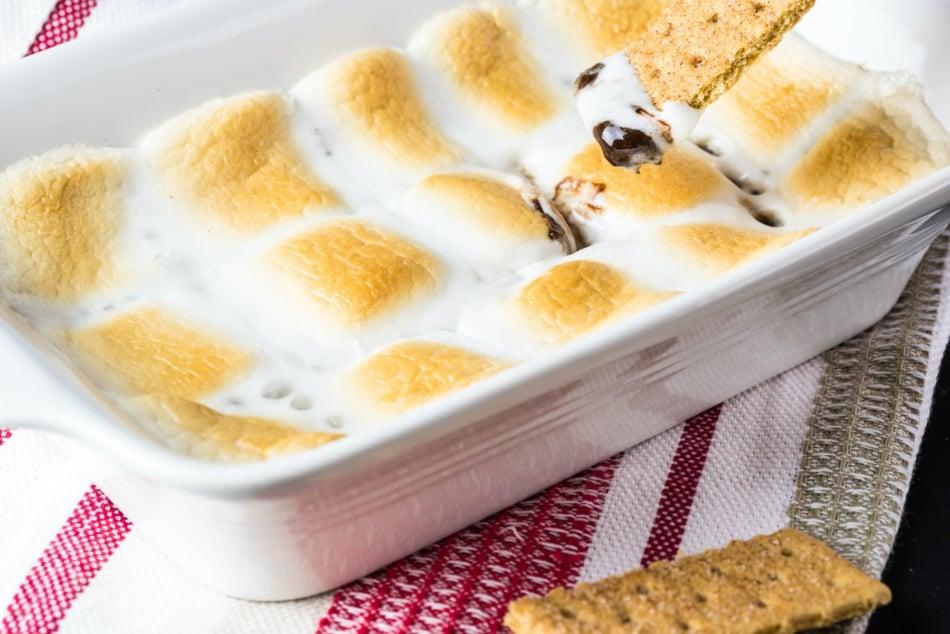 S'more - Bread pudding