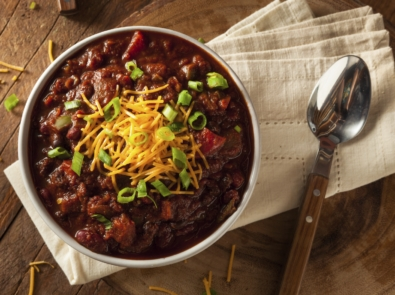 Easy Vegetarian Chili featured image
