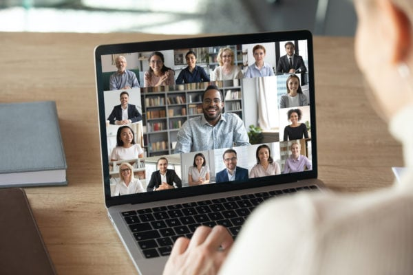 people video conferencing for mother's day