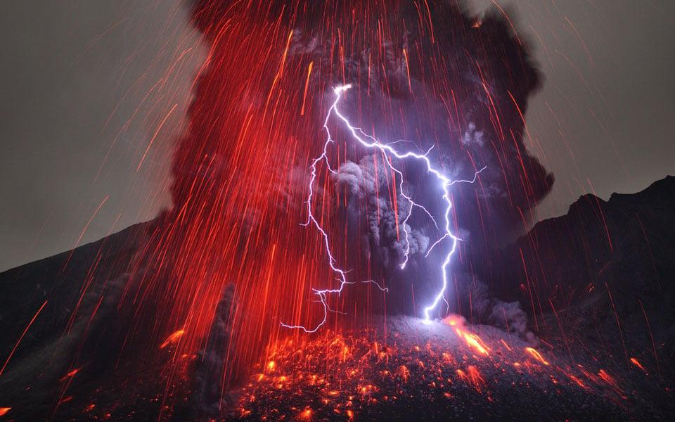 Sakurajima - Volcano