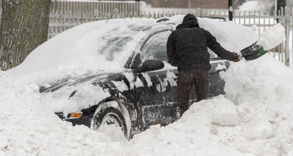 Snow - Stock photography