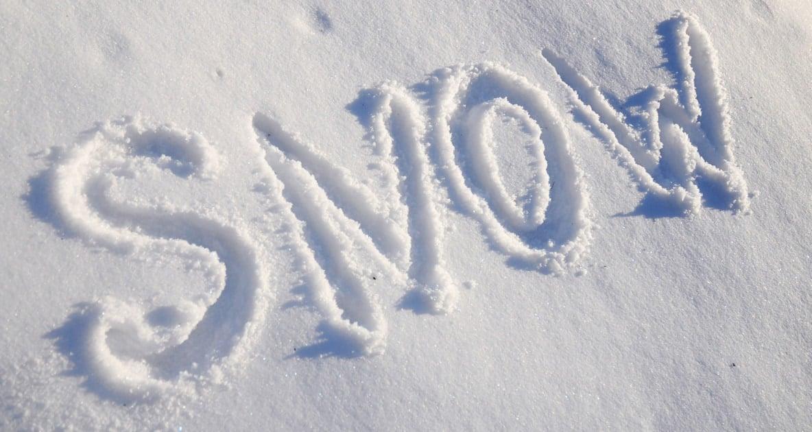 Snow - Winter storm
