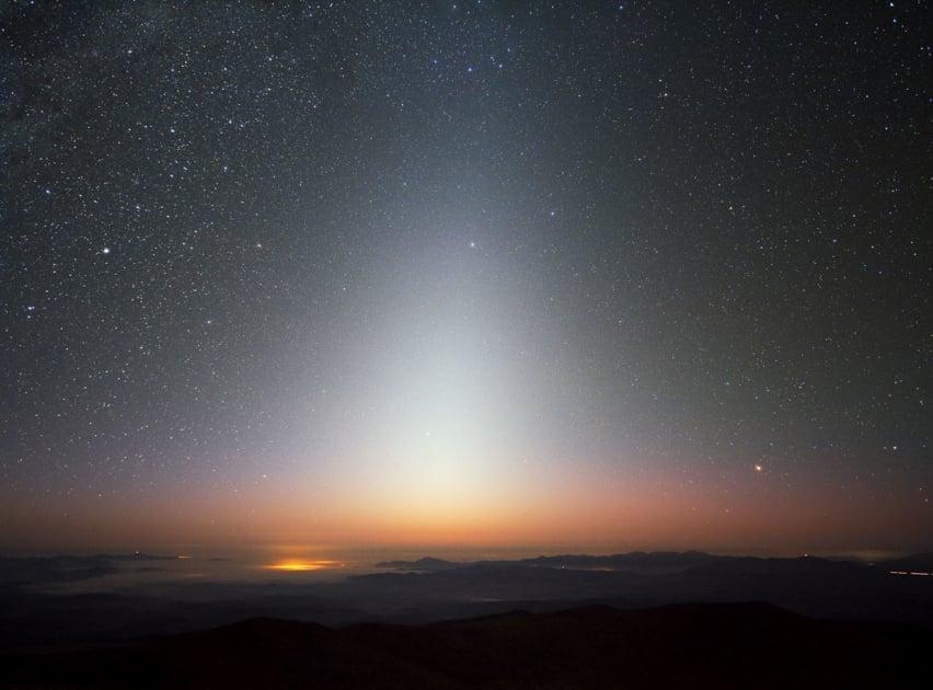 Zodiacal light - Night sky