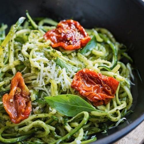 zoodles Pasta - Pesto
