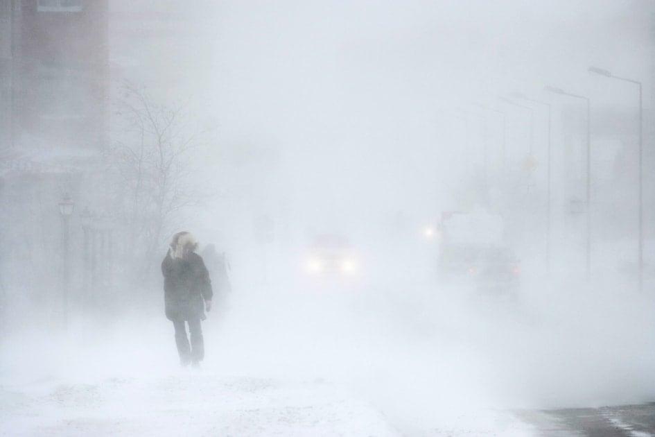 Winter storm - Snow