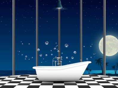 Stressed? Soothe It Away with A Full Moon Bath Ritual featured image