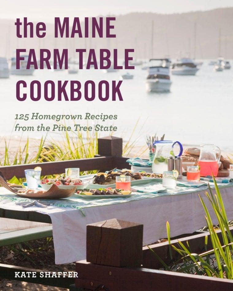 Cover of Maine Farm Table Cookbook.