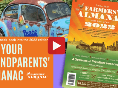 Watch The 2022 Farmers' Almanac Sizzle Reel! featured image