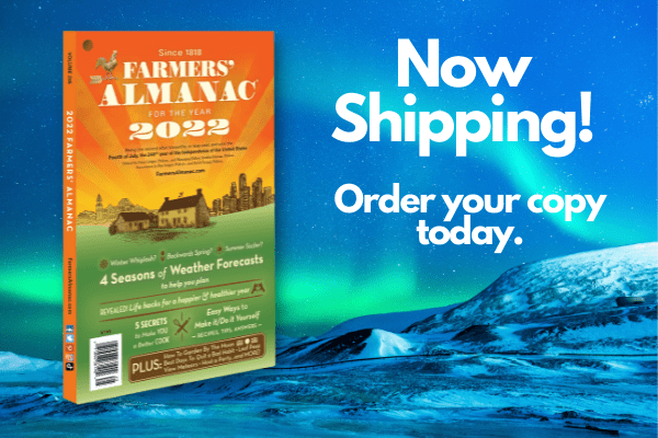 Now shipping image for buying the almanac.