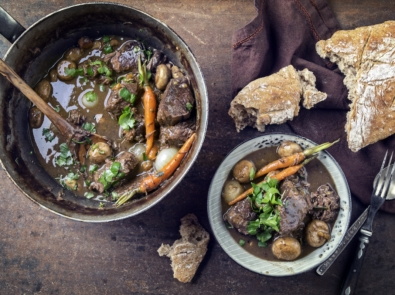 Hearty, Rich Moose Bourguignon (Moose Stew) featured image